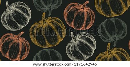 Dynia nieskończony tekstury warzyw tle Zdjęcia stock © lucia_fox