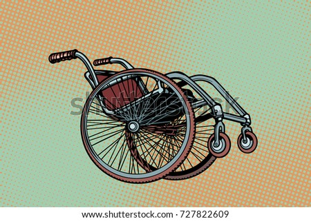 Realistic wheelchair, symbol International Day of Persons with D Stock photo © studiostoks