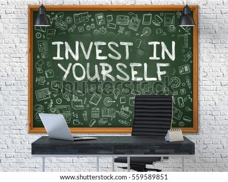 黒板 オフィス 壁 情熱 成功 緑 ストックフォト © tashatuvango