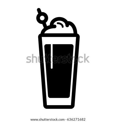 üveg tej ikon stílus izolált fekete Stock fotó © MarySan