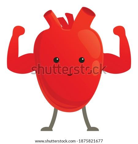 愛 筋 強い アスレチック 中心 筋肉 ストックフォト © popaukropa