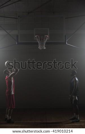 Dos gimnasio uno hombre deporte Foto stock © wavebreak_media