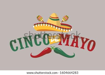 Mayonesa negro sombrero sombrero texto tarjeta de felicitación Foto stock © orensila