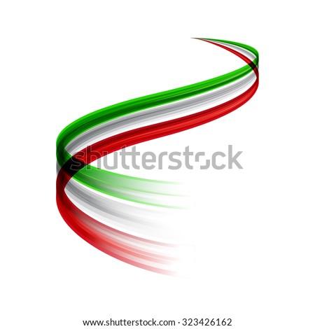 Италия экономика итальянский флаг бизнеса диаграммы гистограмма Сток-фото © m_pavlov