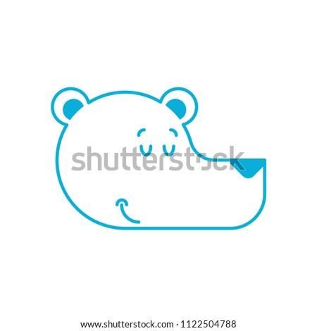 Jegesmedve alszik arc sarkköri vad bestia Stock fotó © MaryValery