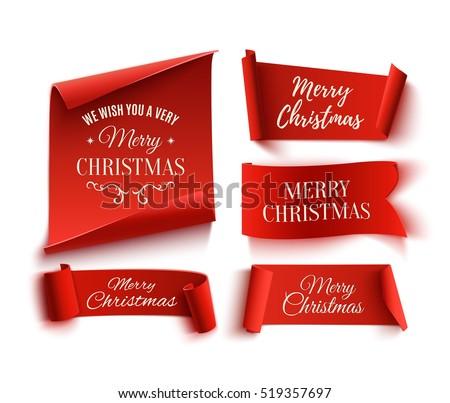 Natale carta banner gradiente Foto d'archivio © adamson