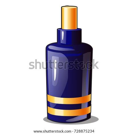 Mavi aerosol sprey seramik cam şişe Stok fotoğraf © Lady-Luck