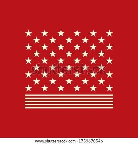 szett · USA · vidék · dísz · illusztráció · művészet - stock fotó © Linetale