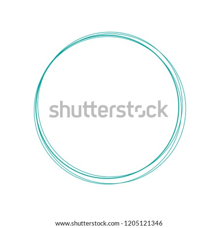 marker circle, circles for highlight text or quote. Text can be placed in the circles. Vector illust Stock photo © kyryloff