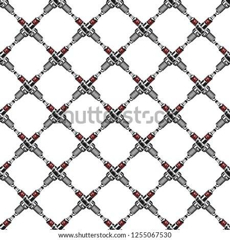 Susciter modèle garage symboles stock Photo stock © JeksonGraphics