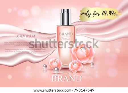 Kozmetikai üveg csomagolás vektor puha spray Stock fotó © pikepicture