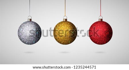 vermelho · brilhante · brilho · natal · vetor - foto stock © frimufilms