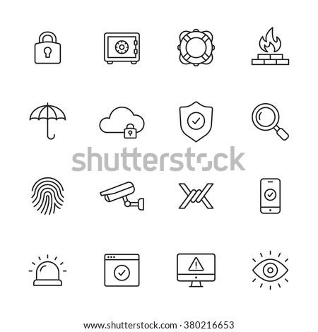 Prywatność oka ikona kłódki podpisania bezpieczeństwa Zdjęcia stock © kyryloff