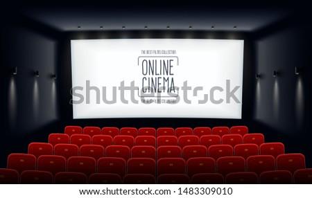 popcorn · 3d-bril · bioscoop · film · ontwerp · frame - stockfoto © marysan