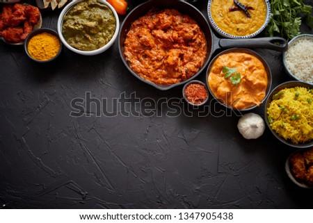 каменные · блюд · индийская · кухня · масло · куриные - Сток-фото © dash