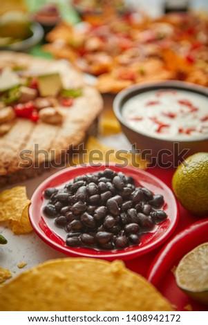 comida · mexicana · colorido · México · cópia · espaço · quadro - foto stock © dash