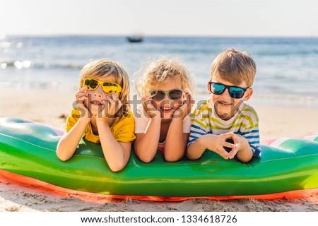 tropische · vakantie · strand · banner · tropisch · eiland · strandvakantie - stockfoto © galitskaya