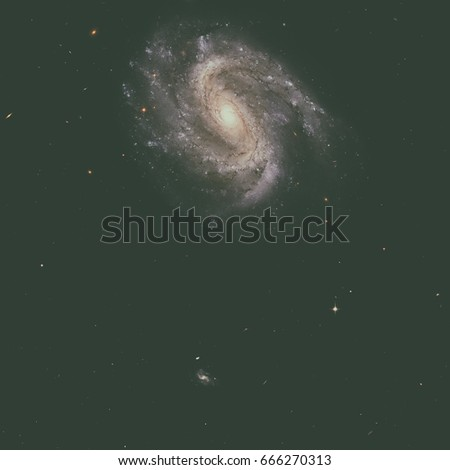 NGC 201 is a barred spiral galaxy in the constellation of Cetus. Stock photo © NASA_images