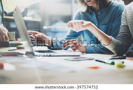 Procede business managers crew werken Stockfoto © Freedomz