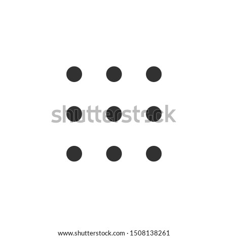 Vierkante opties icon helpen rekening modieus Stockfoto © kyryloff