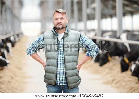 Ciddi olgun erkek işçi kafa çağdaş Stok fotoğraf © pressmaster