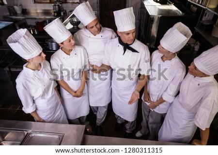 Grup şefler diğer mutfak otel iş Stok fotoğraf © wavebreak_media