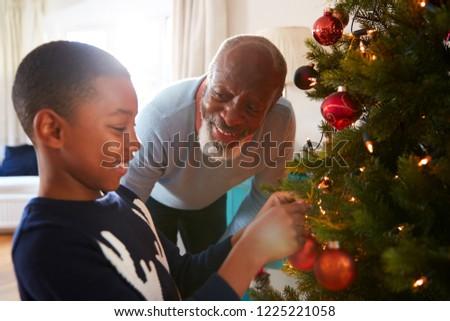 Behulpzaam afro-amerikaanse grootvader grootmoeder Stockfoto © wavebreak_media