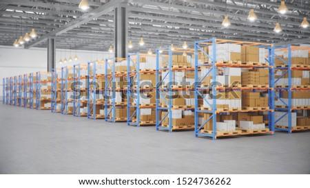 Işçi dağıtım Metal Bina malzemeler Stok fotoğraf © Kzenon
