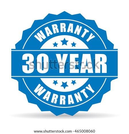 30 Jahre Garantie Symbol Label Zertifikat Kundschaft Stock foto © kyryloff