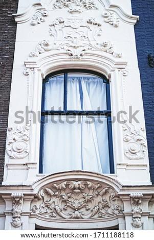 Principal centro da cidade rua cidade centro Amsterdam Foto stock © Anneleven