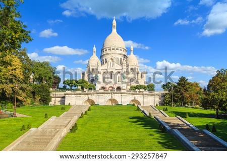 Sacre Coeur domes Stock photo © sumners