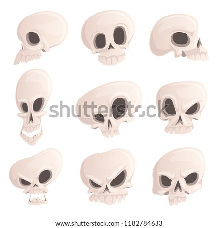 different skull emotions stock photo © romvo