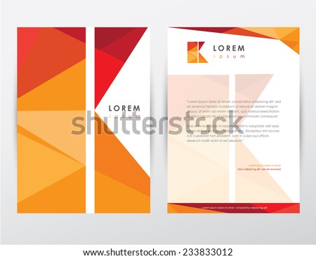 yaratıcı · modern · şablon · vektör · dizayn - stok fotoğraf © SArts