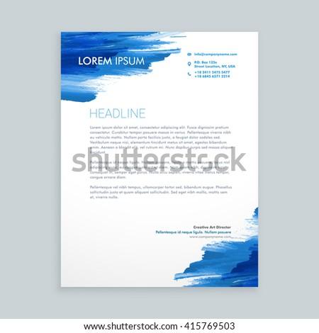 インク 企業 レターヘッド パンフレット テンプレート ストックフォト © SArts