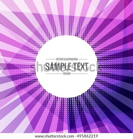 Absztrakt funky lila sugarak ki Stock fotó © SArts
