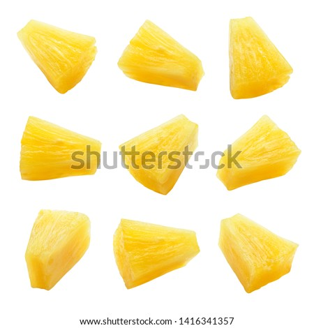 Pineapple pieces Stock photo © Digifoodstock