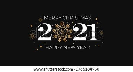 Simple prima alegre Navidad saludo diseno Foto stock © SArts
