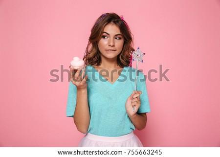 moda · foto · jovem · sorridente · belo - foto stock © deandrobot