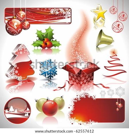 karácsony · szerkeszthető · vektor · grafikus · művészet · terv - stock fotó © articular