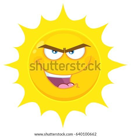Lol amarelo estrela desenho animado cara Foto stock © hittoon