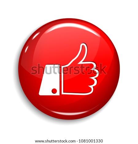Vecteur web élément circulaire bouton icône Photo stock © rizwanali3d