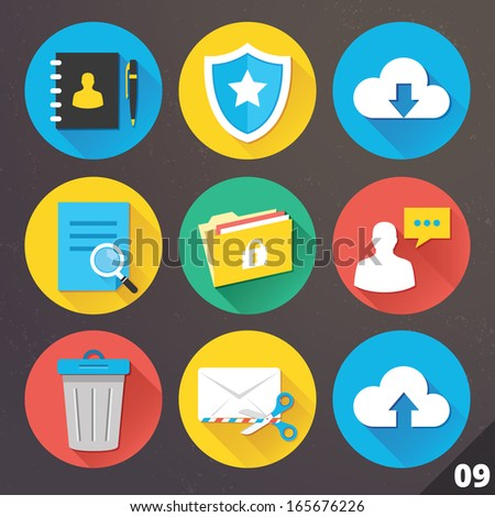 Delete or remove Document file vector icon. flat sign for mobile concept and web design. Paper doc s Stock photo © kyryloff