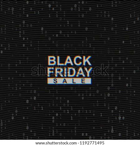 Vector black friday vânzare steag analog televizor Imagine de stoc © Iaroslava