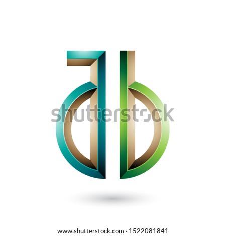 暗い 薄緑 シンボル 文字 ベクトル 孤立した ストックフォト © cidepix