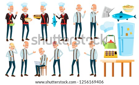 careca · homem · desenho · arte · feliz - foto stock © pikepicture