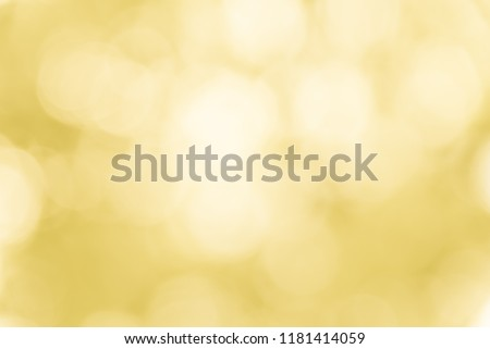 green spring blurred background with yellow bokeh circles natural layout stock photo © artjazz