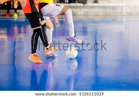 Futebol jogadores jogar combinar esportes Foto stock © matimix