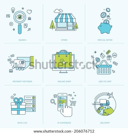 линия торговых оплата мобильных аннотация сеть Сток-фото © makyzz