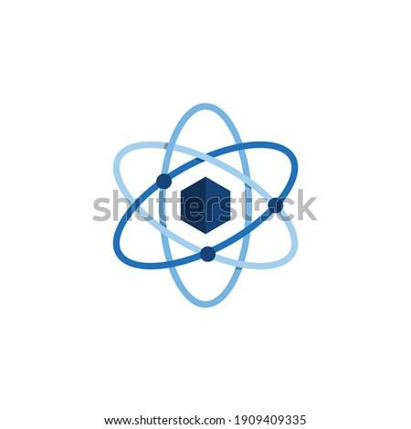 Hexágono químico nano átomo estrutura vetor Foto stock © kyryloff