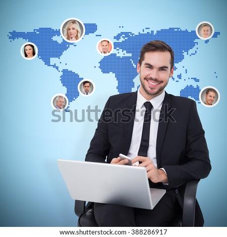 Senior kaukasisch zakenvrouw digitale Stockfoto © wavebreak_media